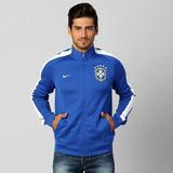 02c4ff6a71 Jaqueta Nike Cbf Brasil Seleção Oficial Masculina Azul
