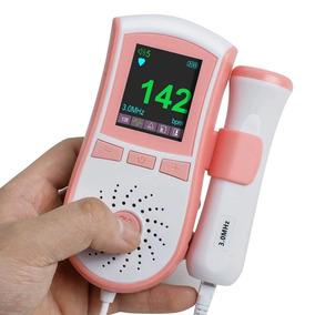 Doppler Fetal 3 Mhz Pantalla A Color 2 Colores