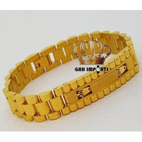 c14db29fdaf Pulseira Rolex 15010 Aco - Joias e Relógios no Mercado Livre Brasil