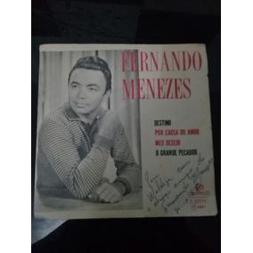 Compacto Fernando Menezes - Autografado