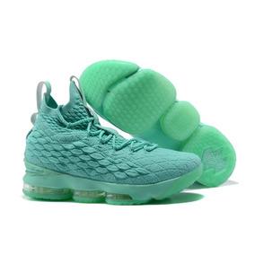 Tenis Nike Lebron 15 Mint Green Original
