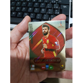 Card Adrenalyn Xl Copa 2018 Russia Limited Edition Piqué