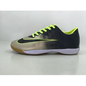 aac9058725 Chuteira Infantil Futsal Dourada - Chuteiras de Futsal para Infantis ...