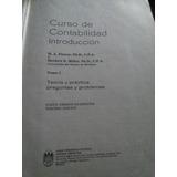 Curso De Contabilidad. Introduccion. Tomo 1. Finney, Miller