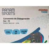 Inauguración Juegos Panamericanos Norte C