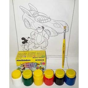 Tinta Guache Pote Medio - Arte e Artesanato no Mercado Livre Brasil 58826ab30166d