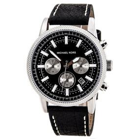 Reloj Michael Kors Mk Mk8310 Negro, Cronógrafo , Original