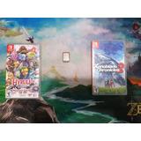 Juegos De Nintendo Switch Hyrule Warriors Zbotw Xeno 2!