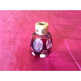 Precioso Perfumero Antiguo De Cristal. Años 50s