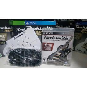 Rocksmith 2014 Ps3 - Original - Lacrado - Jogo + Cabo