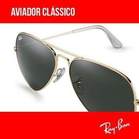 Ray Ban Aviador Rb 3024 3025 3026 Made In Italy Leil O - Óculos no ... 66e0e56ba5