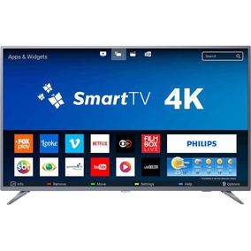 Smart Tv Led 50 Philips 50pug6513/78 Ultra Hd 4k