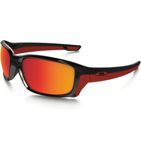0c55e2b6d5165 Óculos Oakley Straightlink Original Nota Fiscal Black Red