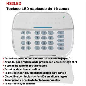 Teclado Dsc Hs2led Alarma Power Series Neo