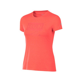 Playera Asics Fiery Flame Wr3093 Terracota