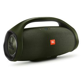 Caixa De Som Jbl Boombox Portatil Bluetooth Original Verde