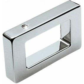 Puxador Alça Zamac 1181 Cromado/strass 32mm [ H.1181/32 ] -