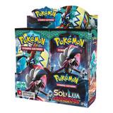 Box Pokemon Sol E Lua 2 Guardiões Ascendentes 36 Boosters