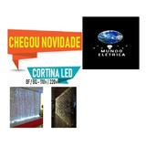 Cortina Led 3x 2,5 Bco Frio Fixa Promoção Casamento 110v