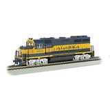 Bachmann Industries Emd Gp40 Dcc Alaska 3002 Sound Value Equ