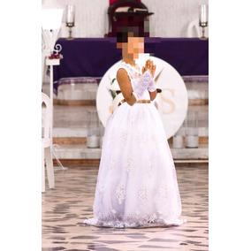 Vestido De Primera Communion. Talla 12/14