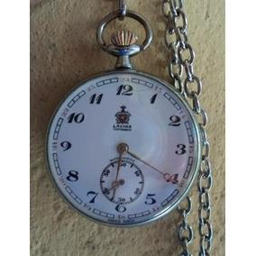 6128e2965fa Relogio De Bolso Antigo Lavina - Relógios no Mercado Livre Brasil