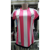b7a2c307f0db8 Camisa Santos Feminina Kappa Outubro Rosa 2017   2018