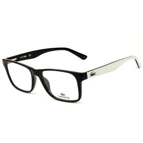 a8b169ea276e4 Armacao Oculos De Grau Quadrado Masculino Lacoste - Óculos no ...