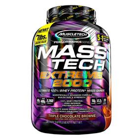 Proteina Muscletech Mass-tech 7lbs Extreme 2000 Chocolate