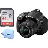 Nikon D5300 Cámara Negro 1522 24 2 Mp Digital Slr Con 18 ...