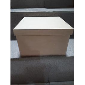 Caja Mdf 25x25x10 Con Tapa Ksj1