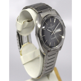 Reloj Suizo Eterna Matic 1000 Daydate Automatico Nos Mov Eta