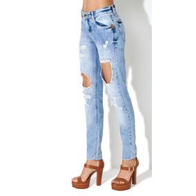fb7c3490c Calça Jeans - Calças Morena Rosa Calças Jeans no Mercado Livre Brasil