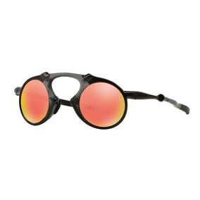 1d0d8c9114851 Oculos Sol Oakley Madman Oo6019 04 Vermelha Polarizada. R  699