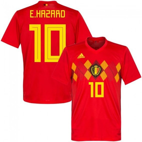 Camiseta Belgica 10 Hazard 2018 Ho