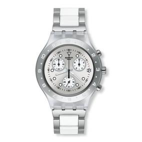 ffde1702dd0 Relogio Swatch Full Blooded Prata - Relógios De Pulso no Mercado ...