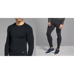 Conjunto Térmico Lupo Masculino! Camiseta Run E Calça Emana! 5f9f31ae216ab