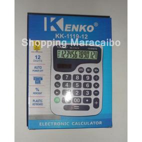 Calculadora Kenko De Mesa Escritorio De 12 Digitos * Tienda