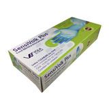 Luva Nitrílica Sensivolk Plus Azul Cano Longo Caixa Com 50 21637b3a63