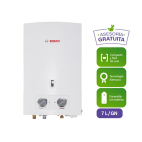 Calentador A Gas Bosch As0 7 Lts Gas Natural Bat
