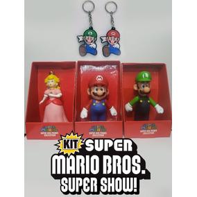 c942ed887b171 Chaveiro Mario Bros - Bonecos e Figuras de Ação no Mercado Livre Brasil