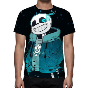 Camisa, Undertale - Sans Mod 01 - Estampa Total