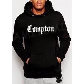 Blusa Moletom Compton Rap Hip Hop Moleton Canguru Capuz 3bef5b9619f