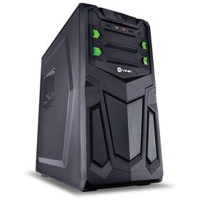 Pc Cpu Intel Hd 320 4gb Ram Em Gabinete Gamer C3 Tech E Wifi