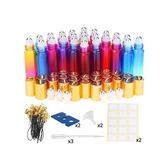 Botellas De Vidrio De 10 Ml Colores Esarora