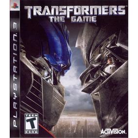 Jogo Transformers The Game Playstation 3 Ps3 Mídia Física