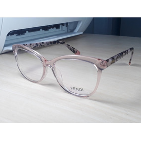 a31201b782f6d Armacao Oculos Feminino Grau - Óculos Rosa claro no Mercado Livre Brasil