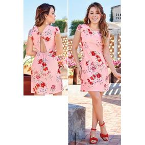 Vestido Cklass Rosa Multicolor 139-60 Primavera Verano 2018