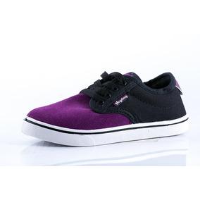 Zapatilla Heyday Negro/violeta Niño