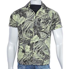 Camisa Florida Masculina Havaiana - Camisa Masculino no Mercado ... 19117b19870d4